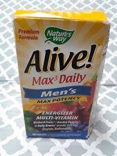 Nature's Way Alive! Max3 Potency Men's Multi - 90 Tablets, Exp-03/2020++, #5424