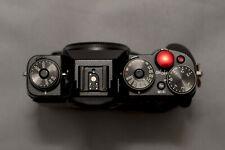 Fujifilm X-T1 16.3MP Digital SLR Camera - Black (Body Only) with VG-XT1 vertical