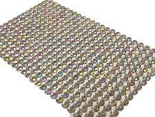 400 pièces EN VRAC Feuille de 6mm Adhésif AB DIAMANTE à coller sur strass gemmes