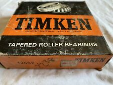 42687 Timken Tapered Roller Bearing (NOS)  Distressed Box