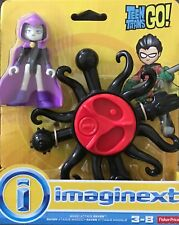 NIB Fisher-Price Imaginext Teen Titans Go! Magic Attack Raven Playset Figure Toy