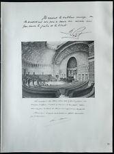 1926 - Lithographie citation de Raoul Péret, Paul Doumer (Guerre 14-18)