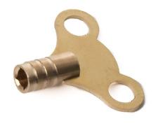 Orologio tipo le chiavi del radiatore x2 OTTONE MASSICCIO sanguinare Riscaldatore Idraulica Strumento Chiave PB020