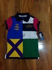 Polo Ralph Lauren Girl's Multi Colour Polo Shirt For 4 Years BNWT