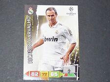 R. CARVALHO REAL MADRID UEFA PANINI FOOTBALL CARD CHAMPIONS LEAGUE 2011 2012