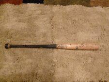 Ramon Cabrera Game Used Signed Baseball Bat Miami Marlins Detroit Tigers