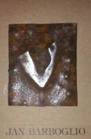 """Jan Barboglio Iron Collection Tag ~ Arm Lift ~ 2-3/8"""" x 2"""" ~ Hand Worked"""