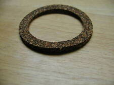 """2 x English CORK GASKET WASHERS SEALS for 2 1/2"""" PETROL / FUEL CAP two gaskets"""