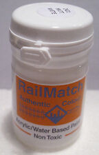 RailMatch 2421 - Matt White - General Colour - Acrylic Paint - 18ml Pot