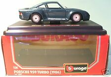 Burago Porsche 959 Turbo 1986 ref 0563 1/24eme