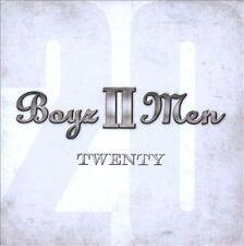 Boyz II Men - Twenty (2012) Brand New and Factory Sealed Boyz 2 Men