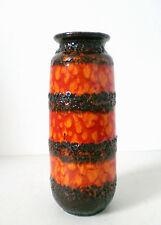 60er scheurich vase céramique 60s Ceramic west German Fat Lava pottery