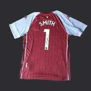 Dean Smith Signed 20/21 Aston Villa Shirt