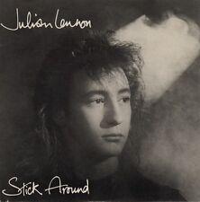 "Julian Lennon - Stick Around 7"" vinyl single pic cover Australia 1986 promo NM"