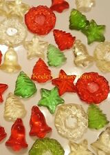 Holiday Mix Bite Sized Clear Toy Candy, Christmas Candy - 36 Pcs