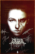 CHELSEA GRIN Self-Inflicted 2016 Ltd Ed Signed By All 6 Members New RARE Poster!