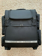 Modular Motorcycle Luggage T-Bags Super-T Expandable With Top Roll & Mesh Net