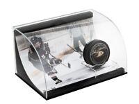 Teemu Selanne Signed Autographed Puck and Photo Acrylic Display Ducks #/25 UDA