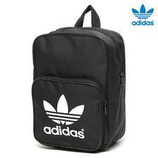RARE  adidas Originals  MINI Trefoil  Book bag  Backpack School Bag  Black  1AVL