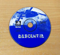 Descent 2 PS1 -  Sony PlayStation 1 Disc ONLY Free P&P UK