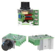 2000W SCR Electronic Voltage Regulator Speed Controller Dimmer Thermostat 220V