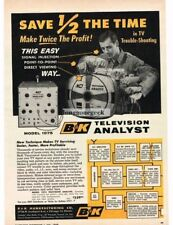 1959 B&K Model 1075 Television TV Test Troubleshooting Equipment Vtg Print Ad