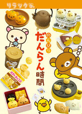 Re-Ment Miniature Sanrio San X Rilakkuma Card Game Snacks Full Set of 8 pcs