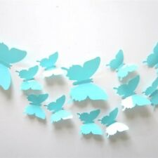 3D butterfly Art Decor PVC butterflies Mural wall stickers 12 pcs