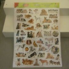 STICKERS OF ADORABLE PUPPIES