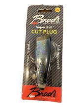 Brad/'s Super Bait Cut Plug and Mini Cut Plug Black Jack 4-Inch Two Pack