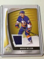 F38014 2017-18 SP Game Used Gold Parallel Jersey BROCK NELSON ISLANDER
