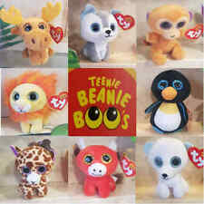 McDonalds Happy Meal Toy 2017 TY TEENIE BEANIE BOOS Baby Wild Animals - VARIOUS
