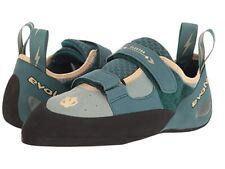 Evolv Womens Elektra Jade/Seapine Rock Climbing Shoes Size 9.5 (1008160)