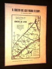 Auto Automobili d'Epoca Circuito del Gran Premio d'Europa del 1924 Circuit Lyon