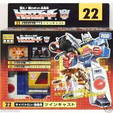 New Takara Tomy Transformer TF Encore 22 Twin Cast Painted