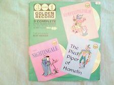 VTG 45  golden records  Rumpelstiltskin, Nightningale, & Pied Piper of  Hamelin
