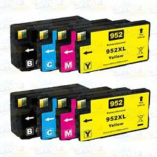8Pk 952XL High Yield Ink For HP952XL OfficeJet Pro 8710 7740 8210 8216 8218 8725