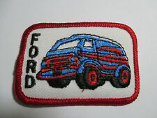 Ford Van Patch ( Blue Roof) Vintage, Original, NOS 3 X 2 INCHES