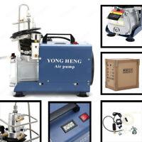 110V 30MPa YONGHENG Electric Air Compressor Pump High Pressure System Rifle US
