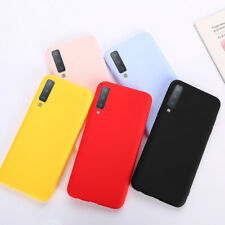 Candy Color Case For Samsung Galaxy A10 A30 A40 A50 M10 Silicon Matte TPU Case
