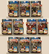 Toy Biz Marvel Legends Mojo Series Complete LOT OF 10 Figures Complete MIP
