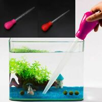 30ml Pipette Aquarium Cleaner Pump Fish Tank Siphon Water Change Tool BBQ Tube