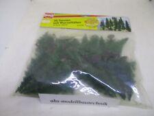 Busch 6492, 35 Tannenbäume mit Wurzelfüßen für Spur H0.
