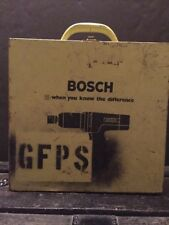 BOSCH PANTHER YELLOW DRILL  METAL CASE VINTAGE