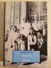 LIBRO GIANNI OLIVA - I SAVOIA - BIBLIOTECA STORICA IL GIORNALE 1998