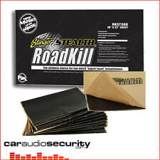 "Stinger STEALTH Roadkill BULK KIT 9pcs 18 ""x 32"" 36sqft isolante audio deadening"
