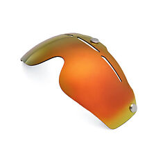 New Walleva Polarized Fire Red Replacement Lenses For Giro Air Attack Helmet
