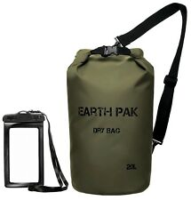 Earth Pak -Waterproof Dry Bag - Roll Top Dry Compression Sack Keeps Gear Dry ...