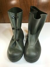 KCA Military Weatherproof Rubber Boots Men's Size 13 Overboots