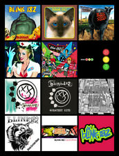 "BLINK 182 album discography magnet (4.5"" x 3.5"") punk rock green day dude ranch"